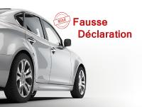 Assurance auto pour fausse déclaration