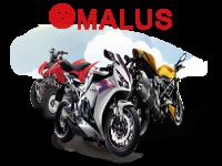 Assurance moto pour conducteur avec malus